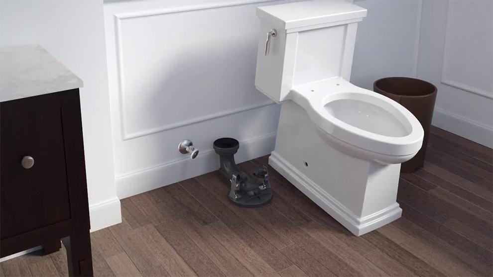 ContinuousClean Kohler Corbelle Toilet
