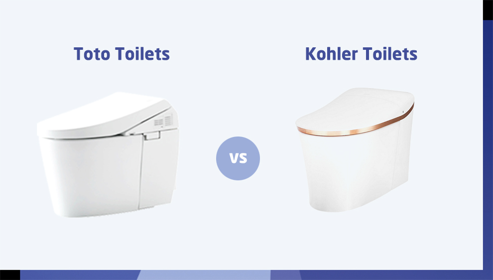 Toto vs Kohler Toilets
